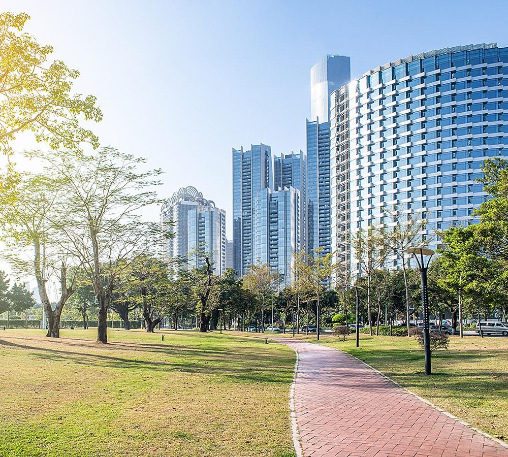 paysage urbain durable